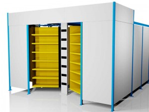 Horizontal Carousel Warehouse Storage