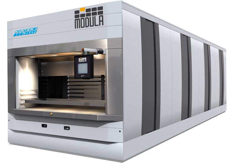 Modula Cube - The Automated Horizontal Carousel Storage System