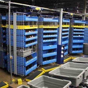 Horizontal Carousels for Warehouse Storage