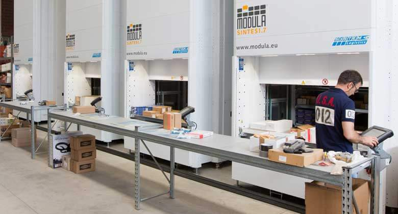 ... Vertical Storage Solutions Improve Labor Efficiency