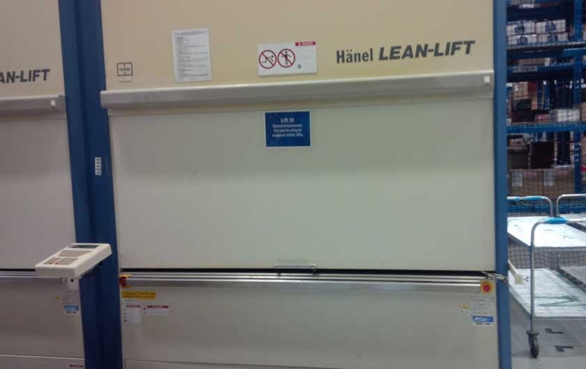 Used Hanel Lean Lift Vertical Lift Module