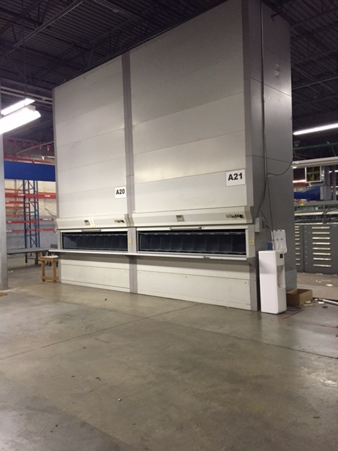 Used Remstar Vertical Carousels